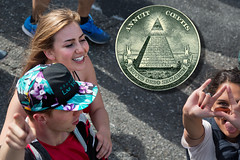 Annuit cœptis (AGrinberg) Tags: eye pyramid latin dollar baytobreakers novusordoseclorum eyeofprovidence annuitcœptis annuit cœptis neworderoftheages b2b2014 35054eyepyramida