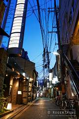 20140519-80-Gion district of Kyoto at night.jpg (Roger T Wong) Tags: travel signs streets japan night lights kyoto gion alleys 2014 canon24105f4lis canonef24105mmf4lisusm canoneos6d rogertwong