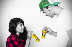 (Ralf P) Tags: pink boy red woman man green beer girl cheers bier mann frau prost klsch kariert