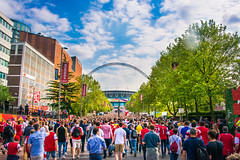 FA Cup Final 2014, Arsenal vs Hull (8 of 53).jpg (philipc) Tags: london final fans arsenal redandwhite facup wembely 2014 facupfinal hullcity