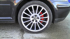 "VW Golf alloy wheel finished in Shadow Chrome by We Fix Alloys • <a style=""font-size:0.8em;"" href=""http://www.flickr.com/photos/75836697@N06/14285388027/"" target=""_blank"">View on Flickr</a>"