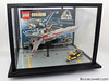 "LEGO Star Wars 7140 X-Wing Fighter Display Case • <a style=""font-size:0.8em;"" href=""http://www.flickr.com/photos/44124306864@N01/14290209801/"" target=""_blank"">View on Flickr</a>"