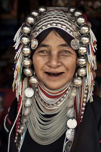 Long Neck Village Woman II