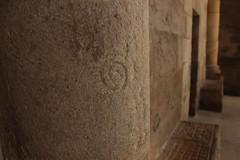 Glifo en la catedral (Juan Pedro Barbadillo) Tags: cathedral symbol catedral column duomo paganism glyph pagan colonna columna pagano ourense simbolo símbolo orense glifo paganismo paganesimo