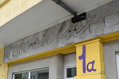 foto atelier (detail) (Florian Hardwig) Tags: berlin storefront photostudio lettering script ghostsign fascia guesswhereberlin
