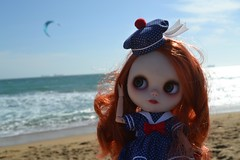 Watching Kite Surfing