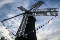 Holgate Windmill - decorated for the Tour de France (1)
