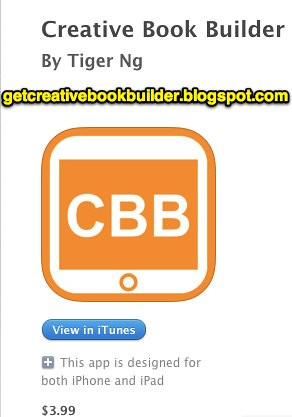 Creative Book Builder for iPad by Wesley Fryer, on Flickr