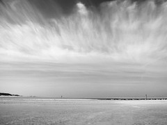 St.Peter Ording - Nordsee (chicitoloco) Tags: cloud clouds strand wolke wolken nubes nordsee nube stpeterording chicitoloco