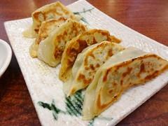 Japanese Gyoza Dumplings @Genkotsu, Shanghai (Phreddie) Tags: china food dinner japanese soup restaurant yum shanghai pork eat ramen noodle gyoza broth tonkotsu hongqiao hataka 140612 genkostu