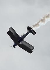 Bücker Bü 131 Jungmann (Salisbury Squared) Tags: display airshow biplane aerobatics bigginhill bücker jungmann festivalofflight bü131