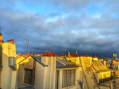 paris | france. (alyssaBLACK.) Tags: sky paris france clouds rooftops