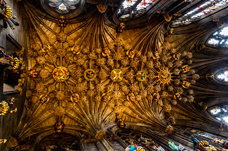 Thistle Chapel Ceiling - Explored, thank you