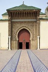 Mausole Mulay Ismail, Mekns, Morocco (bcmng) Tags: color morocco ornament fez marrakech casablanca rabat meknes mosaik tourhassan babmansour babelkhemis islamarchitecture mausoleemohammedv moroccoarchitecture bassindelagdal palaisroyalrabat dralmakhzen mausoleemulayismail arsenaldemoulayismail ecuriemoulayismail