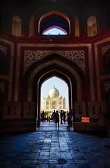 Taj Mahal First view