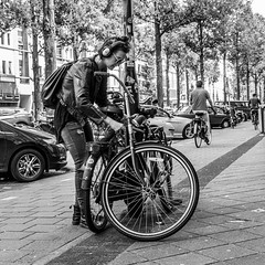 Amsterdam, 1e Van Swindenstraat (Bart van Dijk (...)) Tags: city urban bw woman netherlands girl monochrome amsterdam bicycle lady blackwhite meiden zwartwit nederland citylife streetphotography squareformat bicyclist dailylife dame vrouw meisje stad fiets zw fietser stadsarchief canonef50mmf14 monochroom peopleinthecity straatfotografie peopleinthestreets straatnamen dagelijksleven eerstevanswindenstraat mensenopstraat stadsleven peopleinamsterdam stadsarchiefamsterdam canoneos7d mensenindestad vierkantformaat 11format bartvandijk breeblebox menseninamsterdam canonef24105f40l cityarchivesamsterdam