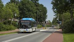 18-07-2014 - Breng 5381 richting Arnhem (Niels Matteman) Tags: bus arnhem 7 18 2014 huissen afzetting 5381 omleiding breng loostraat nielant