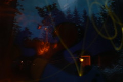 . (Lauri Laurn) Tags: longexposure summer lightpainting art modern night finland doubleexposure contemporaryart contemporary photoart multiexposure lightart lightdrawing tuusula laurilaurn