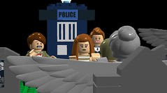 Angels Take Manhattan LDD (sithreno1) Tags: williams lego who manhattan rory doctor angels take ldd riversong legodigitaldesigner amypond