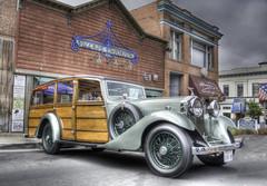 Rolls Royce Woodie (Steve Corey) Tags: show car grande rollsroyce arroyo woodie autoglamma huntingwagon richhuntingwagon rarehuntingwagonfromrollsroyce