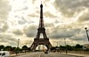 Eiffel Tower. © Glenn E Waters. 2014. (Glenn Waters ぐれんin Japan.) Tags: sky paris france clouds nikon eiffeltower getty フランス d800 ニコン nikond800 ぐれん glennwaters グレン・ウォータース