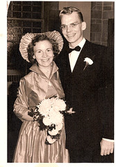 "Eleanor Menchey wedding Oct-3-1953 • <a style=""font-size:0.8em;"" href=""http://www.flickr.com/photos/42153737@N06/14572705224/"" target=""_blank"">View on Flickr</a>"