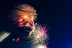 4th of July (ohgoodgracious) Tags: longexposure light color colour night america canon lights evening colorful neon bright fireworks firework fourthofjuly brightlights summertime colourful july4th 4thofjuly summernights summernight independeceday teamcanon
