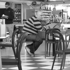 destination unknown (joe.laut) Tags: people bw square blackwhite istanbul mai sw schwarzweiss 2014 incoloro joelaut