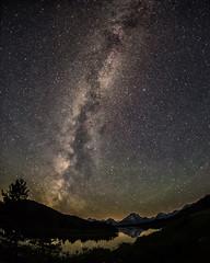 milky way at Oxbow Bend (Marvin Bredel) Tags: mountains night stars astrophotography wyoming teton jacksonhole milkyway grandtetonnationalpark jacksonwyoming marvinbredel