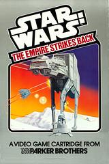 The Empire Strikes Back (1980) Parker Brothers video game poster (Tom Simpson) Tags: illustration poster design starwars atari gaming atat posterart hoth atari2600 theempirestrikesback snowspeeder