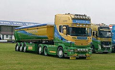 """Malcolms Scottish Showcase Showdown!"" (Malcie Man) Tags: scotland construction malcolm group services scania kerrs 2014 truckfest"