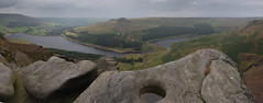 Dovestones 2 (jumpandwave) Tags: rock canon view reservoir formation oldham greenfield pennines dovestones jumpandwave