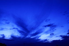 Fluorescent Blue Skies (Andrey Hechuev | Андрей Хечуев) Tags: blue venice sunset sky cloud sun azul veneza tramonto nuvole nuvola purple blu violet indigo bleu cielo ultramarine blau sole venise viola venecia venezia ブルー venedig 青 cloudporn azur caeruleus закат 威尼斯 藍色 небо солнце venecija синий сонце أزرق μπλε 青色 облака ונציה כחול pervinca sunsetporn blua violete plavo skyporn венеция хмара облако indaco 파랑 тучи захід ヴェネツィア xanhlam βενετία хмари bluoltremare венеція плава синій البندقية،