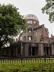 A-bomb dome, Hiroshima, Japan (Mustang Joe) Tags: japan lumix memorial exposure hiroshima panasonic dome fusion bomb atomic hdr dmc 2014 lx7 photomatix panasoniclumixdmclx7