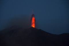 Stromboli Volcano in activity (ladigue_99) Tags: italy volcano sicily activity mediterraneansea vulcano stromboli aeolianislands isoleeolie marmediterraneo attivit ladigue99