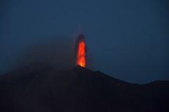 Stromboli Volcano in activity (ladigue_99) Tags: italy volcano sicily activity mediterraneansea vulcano stromboli aeolianislands isoleeolie marmediterraneo attività ladigue99