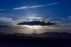 Moonrise Area 51 (damneardone) Tags: coyote blue camping cloud black night landscape high nikon long exposure nevada iso area summit 51 moonrays d7100