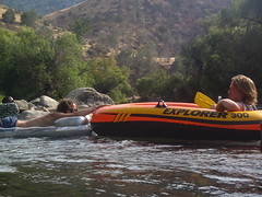 Devin Alex Float (PhDtv) Tags: california road ca trip travel camping light wild camp nature water rock cali night creek forest swim river stars t outdoors fire los woods dragon dinosaur angeles hike kern route inflatable journey whale orca write float slides rex hobo caliente alder sumemr