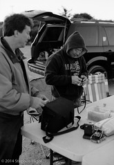 Film Camera Shootout at MBOSP (S Migol) Tags: camera blackandwhite film monochrome analog pentax trix 135 greyscale montebello pentaxlx filmcameras smigol stephenmigol june2014 copyright2014 mbosp