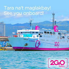 Advertisement from 2GO Travel (Irvine Kinea) Tags: world trip travel sea bus buses station saint mall de asia antique ships philippines transport vessel terminal line international coastal transportation manila land cebu anthony passenger es bacolod metrolink tours ferries ayala iloilo cagayan ozamiz luzon liner padua rm ncr alabang cdo baclaran iligan majic navotas aerobus dapitan 2go dipolog jft mmca uniwide santrans ltfrb malanday
