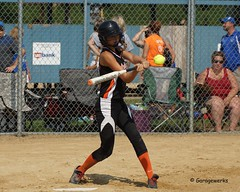 Iowa Games 2014, Softball (Garagewerks) Tags: girl field sport female ball all child sony bat sigma games iowa ames softball isu 2014 50500mm views50 f4563 slta77v allsportiowagames2014 softballgirlfemaleyouthchildfieldballbatdiamondamesisu