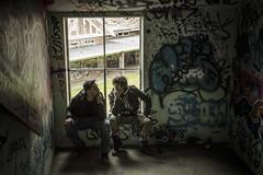 Kyle & Bo ((arteliz)) Tags: abandoned stairs graffiti stairwell desolate destroyed demolished psychiatrichospital larundel arteliz abandonedmelbourne artelizphotography