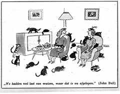 cartoon katten 1955