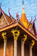 20161228 Cambodia 05086 2 (R H Kamen) Tags: buddhist cambodia cambodianculture indochina rivermekong southeastasia templebuilding architcture buildingexterior builtstructure pagoda rhkamen roof