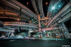 Junction (daccha) Tags: junction night nightscape nightphoto light landscape city cityscape street hdr tokyo japan urban architecture nikon sigma 東京 日本