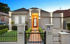 20 La Mascotte Avenue, Concord NSW