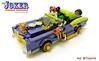 LEGO Batman Custom MOC | The Joker Lowrider Pimpmobile (AC Studio) Tags: lego batman custom moc the joker lowrider pimpmobile dc comics comic building toys toy design myself legos 70906 notorious low rider set