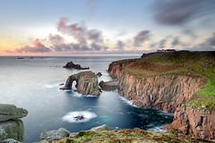Enys Dodnan Arch, Lands End, Cornwall (MKHardyPhotography) Tags: cornwall landsend mkhardy landscape photography landscapephotography seascape