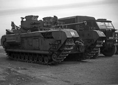 Spotted at REME Base Workshop, Witten (grevillesmyth) Tags: armoured recovery vehicle churchill arv nubian truck reme witten baor 3rd hussars rac