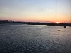 Sault Ste. Marie, Ontario (Harrogate) Tags: sunset internationalbridge
